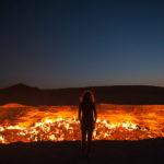 【地獄の門】絶えず業火に包まれる!入口を開いたのは人間だった!ダルヴァザのガスクレーター